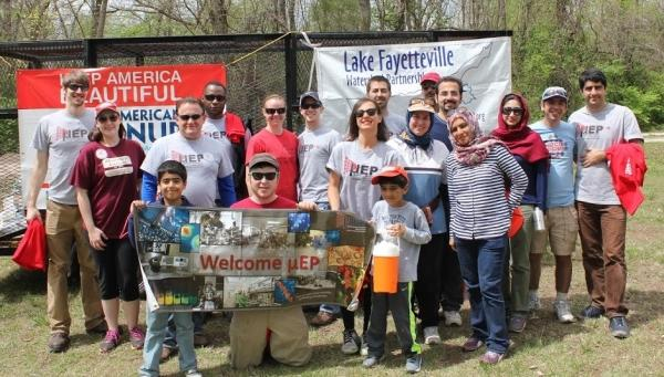Lake Fayetteville Cleanup